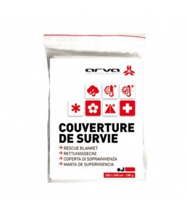 ARVA couverture de survie or 190gr