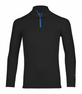 ORTOVOX 210 SUPERSOFT ZIP NECK BLACK (M)
