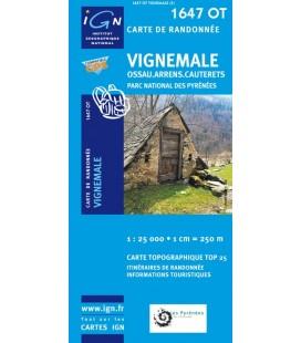Carte IGN Vignemale - IGN 1647OT