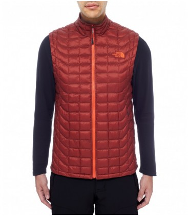 The North Face Thermoball Vest Brick House Red/Acrylic Orange (M)