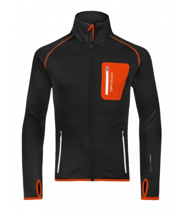 ORTOVOX Fleece Jacket Black (M)