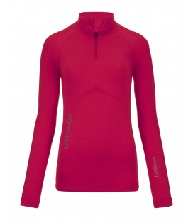 ORTOVOX 230 COMPETITION ZIP NECK Very Berry (W)