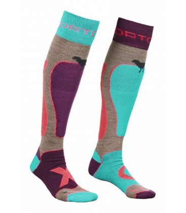 ORTOVOX SKI ROCK'N'WOOL MERINO SOCKS (W)