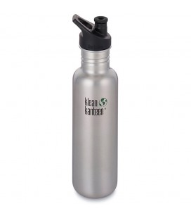 KLEAN KANTEEN 27 Oz Classic Brushed Stainless (800ml)