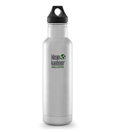 KLEAN KANTEEN 20OZ Classic Vacuum Insulated Brushed Stainless (592ML)