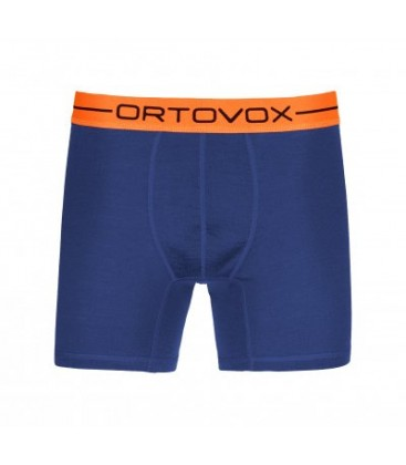 ORTOVOX 185 ROCK'N'WOOL BOXER Strong Blue ( M)