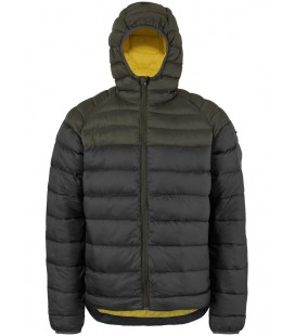SCOTT Jacket Insuloft Featherless Down Earth Grey/Black (M)
