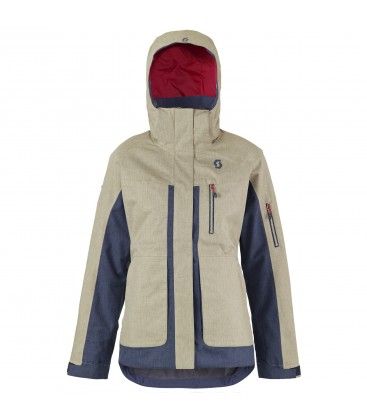 Scott Jacket Ultimate Dryo Sand Grey Heather/Blue Nights (W)