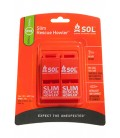 SOL-PACK SIFFLET 100 DB/ SLIM RESCUE HOWLER 2 PACK
