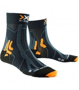 X-SOCKS TRAIL RUN ENERGY NOIR/ANTHRACITE (M)