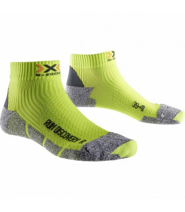 X-SOCKS RUN DISCOVERY 2 LIME/GREY (M)