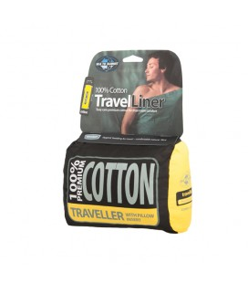 SEA TO SUMMIT drap de coton TRAVELLER PILLOW INSERT