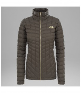 THE NORTH FACE VESTE ZIPPÉE THERMOBALL™ NEW TAUPE GREEN (W)