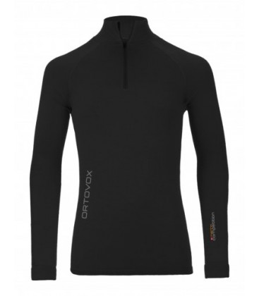 ORTOVOX 230 COMPETITION ZIP NECK BLACK (M)