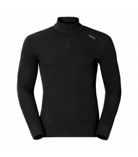ODLO WARM BASELAYER MANCHES LONGUES À COL ROULÉ BLACK (M)
