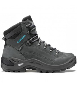 LOWA RENEGADE III GTX MID ANTHRACITE/TURQUOISE (W)