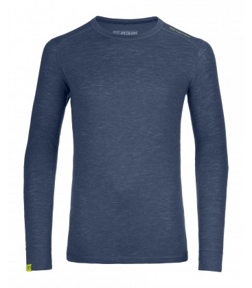 ORTOVOX 105 ULTRA LONG SLEEVE NIGHT BLUE (M)