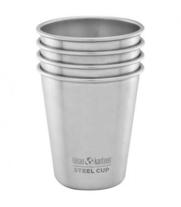 KLEAN KANTEEN-Steel Cup 10oz - 4 Pack