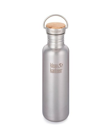 KLEAN KANTEEN 27OZ REFLECT SINGLE WALL BRUSHED STAINLESS (800ML)