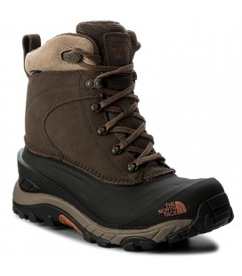 THE NORTH FACE CHILKAT III MUDPACK BROWN/BLACK (M)