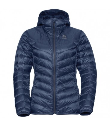 ODLO VESTE A CAPUCHE AIR COCOON DIVING NAVY (W)