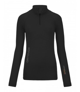 ORTOVOX 230 COMPETITION ZIP NECK BLACK (W)