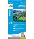 CARTE IGN Bagneres-de-Luchon/Lac d'Oo-IGN 1848OT