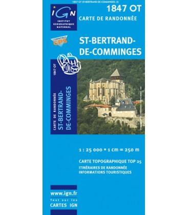 CARTE IGN Saint-Bertrand de Comminges - IGN 1847OT