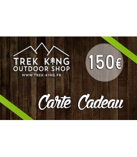 CARTE CADEAU VIRTUELLE TREK KING OUTDOOR SHOP