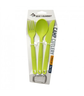 SEA TO SUMMIT 3piece Cutlery Set LIME