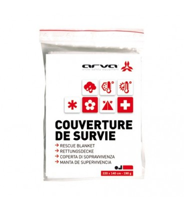 ARVA COUVERTURE DE SURVIE OR 60 GR