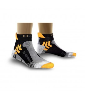 X-SOCKS RUN PERFORMANCE BLACK/ORANGE (M)